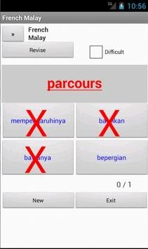 Malay French Dictionary apk screenshot