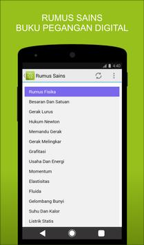 Rumus Sains apk screenshot