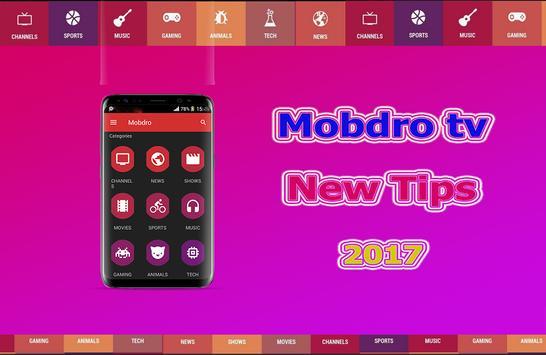 New Mobdro TV 2017 Tutor apk screenshot
