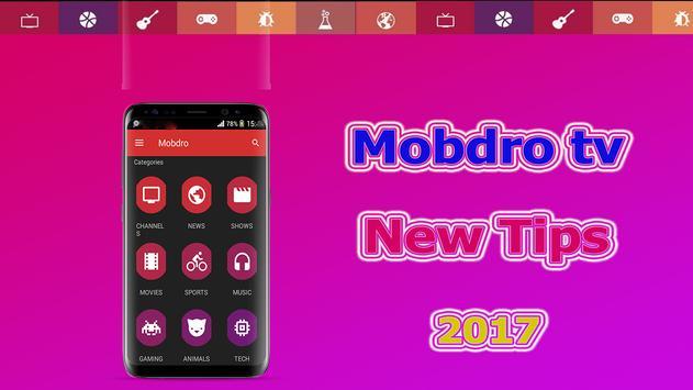 New Mobdro TV 2017 Tutor poster