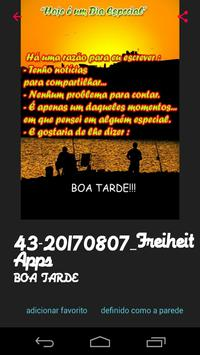 Mensagens de Boa Tarde apk screenshot