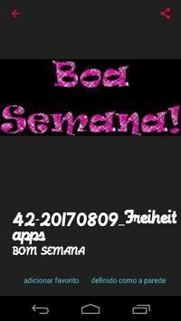 Mensagens de Boa Semana apk screenshot