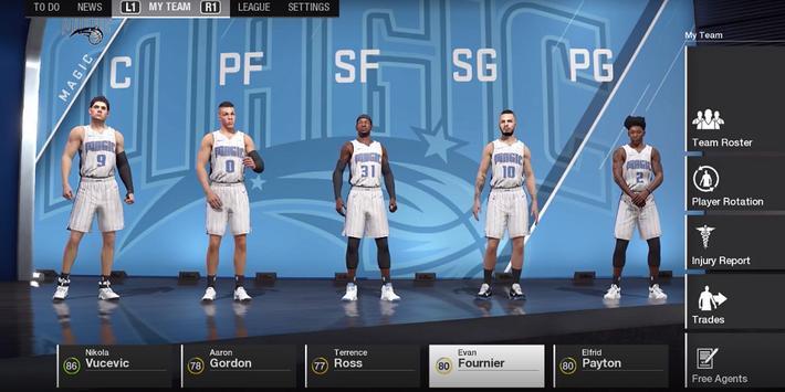 Cheats Codes For NBA Live 18 screenshot 1