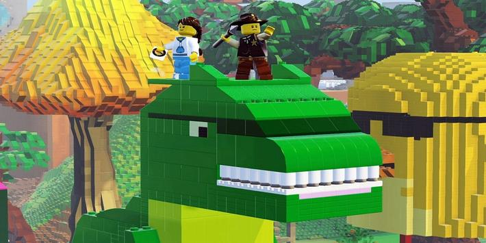GUIDE FOR LEGO WORLDS poster