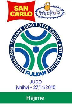 Gare Judo FIJLKAM poster