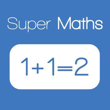 Super Maths poster