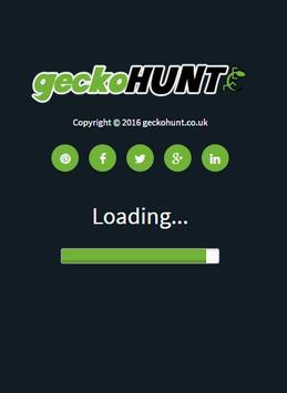 geckoHUNT - UK Shopping apk screenshot