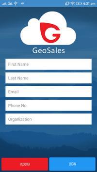 GeoSales apk screenshot