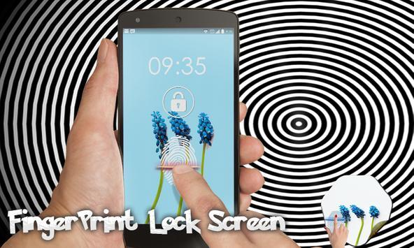 Fingerprint Grap Hyacinth Fake apk screenshot