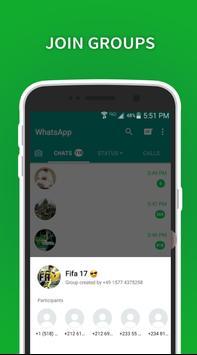 Grupos de WhatsApp poster