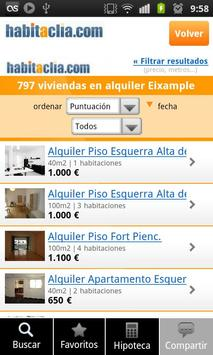 habitaclia - rent and sale of flats and houses apk screenshot