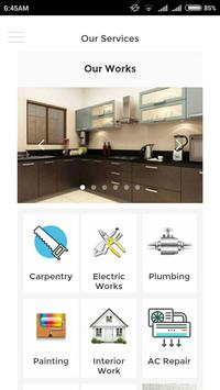 AC, Carpenter, Plumbing, Painting screenshot 1