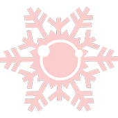 Color Snowflakes Icon Pack icon