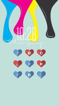 Love Likes Shadow Icon Pack poster