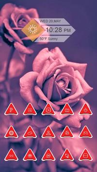 Red Triangles Icon Pack apk screenshot