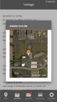 TrakLink GPS screenshot 1