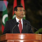 Raees Meeha: President Nasheed icon