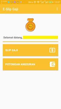 E-Slip Gaji screenshot 1