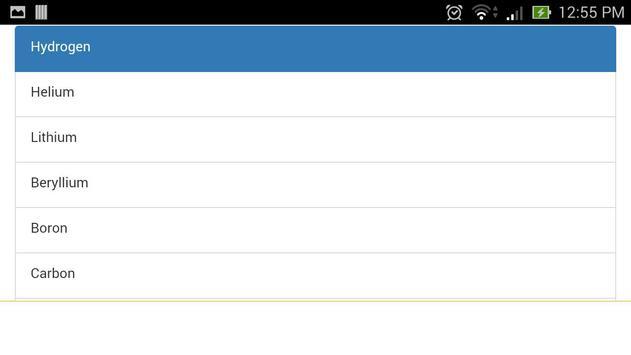 Periodic Table apk screenshot