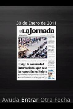 La Jornada mini poster
