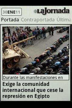 La Jornada mini apk screenshot