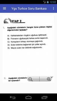Ygs Türkçe Soru Bankası screenshot 7