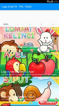 Lagu Anak TK-PAUD-TPA Video screenshot 3