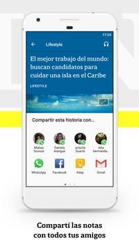 LA NACION apk screenshot