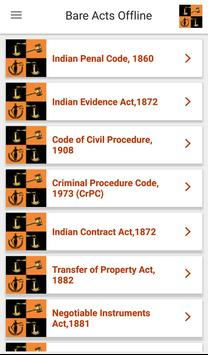 Latest Laws: Indian Laws, Bare Acts, News, IPC,CPC poster