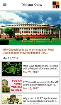 Latest Laws: Indian Laws, Bare Acts, News, IPC,CPC apk screenshot