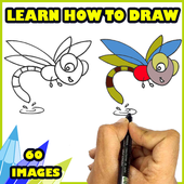 How to Draw easy things icon