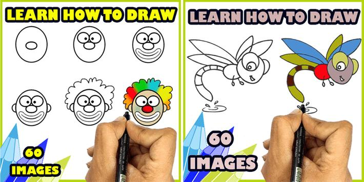 How to Draw easy things poster