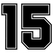 First to 15 (a number game) icon