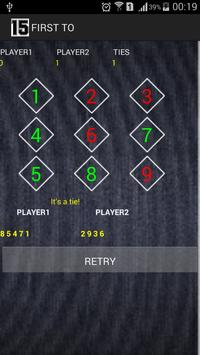 First to 15 (a number game) screenshot 1