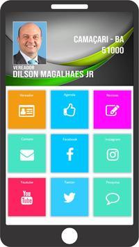 Vereador Dilson Magalhães Jr poster