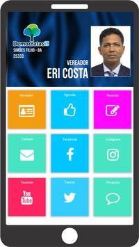 Vereador Eri Costa poster