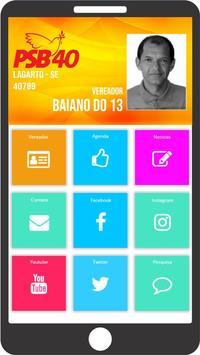 Vereador Baiano do 13 poster
