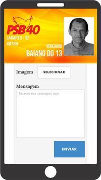 Vereador Baiano do 13 screenshot 1