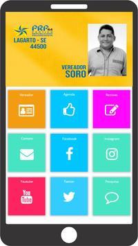 Vereador Soro poster