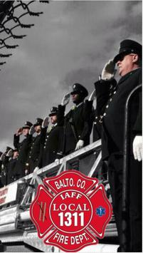 IAFF Local 1311 poster