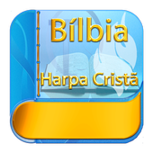 Holy Bible and Christian Harp with audio icon