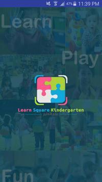 Learn Square Kindergarten poster