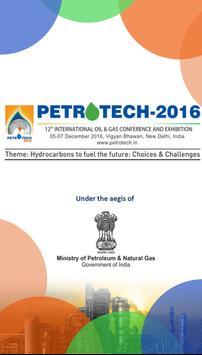 Petrotech 2016 poster