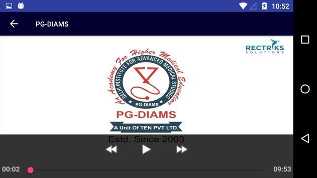 PG-DIAMS screenshot 4