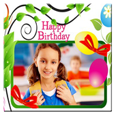 Birthday Photo Frame icon