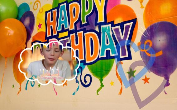Birthday Photo Frame screenshot 1