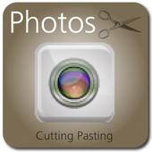 Photos Cutting Pasting icon