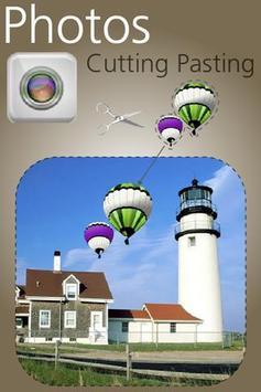Photos Cutting Pasting apk screenshot