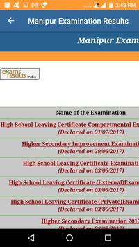 2018 Manipur Exam Results - All Results screenshot 1