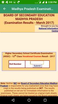 2018 Madhya Pradesh Exam Results - All Exam screenshot 2